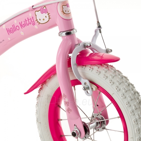 Vaikiškas dviratukas HELLO KITTY Princess 12 Paveikslėlis 4 iš 6 250702000380