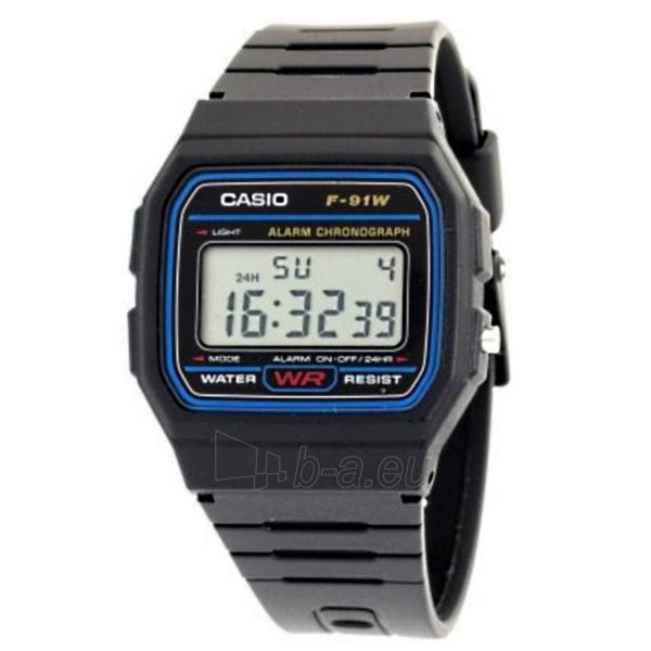 Kids watch Casio F-91W-1DG Paveikslėlis 1 iš 4 310820009646