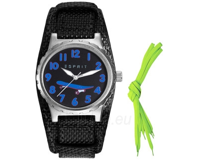Vaikiškas laikrodis Esprit TP90653 Black ES906534002 Paveikslėlis 1 iš 1 310820042944