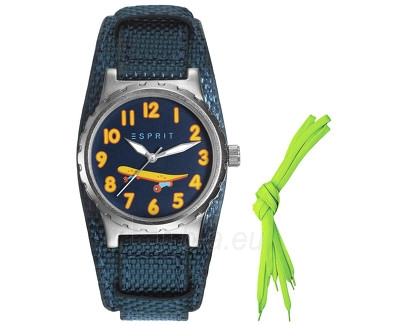 Vaikiškas laikrodis Esprit TP90653 Blue ES906534003 Paveikslėlis 1 iš 1 310820042942
