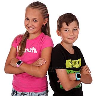 Vaikiškas laikrodis HELMER Chytré hodinky s GPS lokátorem LK 702 růžové Paveikslėlis 2 iš 8 310820133521