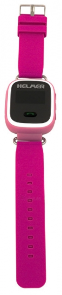 Vaikiškas laikrodis HELMER Chytré hodinky s GPS lokátorem LK 702 růžové Paveikslėlis 5 iš 8 310820133521
