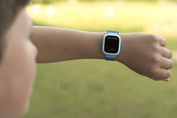 Vaikiškas laikrodis HELMER Chytré hodinky s GPS lokátorem LK 702 růžové Paveikslėlis 6 iš 8 310820133521