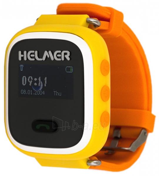 Kids watch HELMER Chytré hodinky s GPS lokátorem LK 702 žluté Paveikslėlis  1 iš 8 310820133522 6121c60dd6
