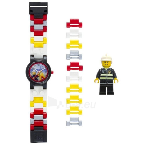 Kids watch Lego City Fireman Kids` Watch Paveikslėlis 2 iš 4 30069700266
