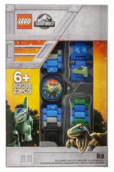Vaikiškas laikrodis Lego Jurský svět Blue 8021285 Paveikslėlis 5 iš 5 310820171799