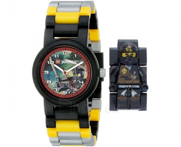 Vaikiškas laikrodis Lego Ninjago Jungle Cole Kids Watch Paveikslėlis 1 iš 1 30069700277
