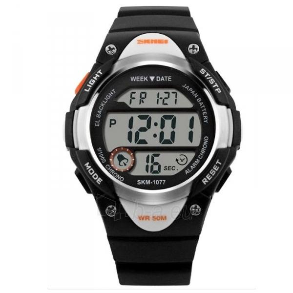 Vaikiškas laikrodis SKMEI AD1077 Kids Black Paveikslėlis 1 iš 3 310820105424