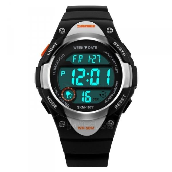 Vaikiškas laikrodis SKMEI AD1077 Kids Black Paveikslėlis 2 iš 3 310820105424