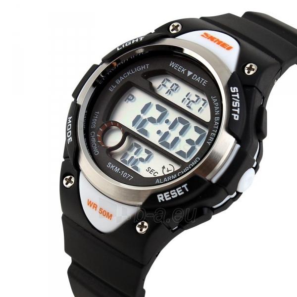 Vaikiškas laikrodis SKMEI AD1077 Kids Black Paveikslėlis 3 iš 3 310820105424