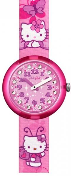 541a15c3e Kids watch Swatch Hello Kitty Buterfly ZFLNP005 Paveikslėlis 1 iš 6  30069700145