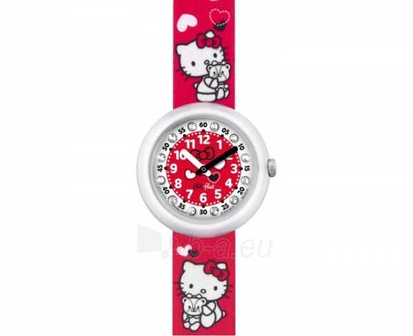 Bērnu pulkstenis Swatch Hello Kitty ZFLNP014-STD Paveikslėlis 1 iš 1 30069700305