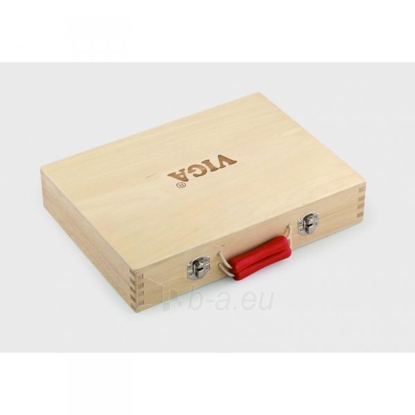 Vaikiškas medinis įrankių rinkinys su atsuktuvu lagamine | Viga Toys Paveikslėlis 2 iš 4 310820160885