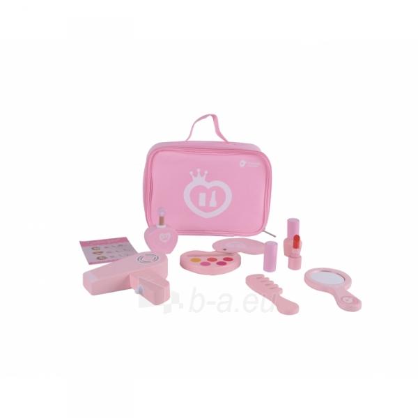 Vaikiškas medinis kosmetikos rinkinys krepšyje   Classic World 54402 Paveikslėlis 1 iš 2 310820186341