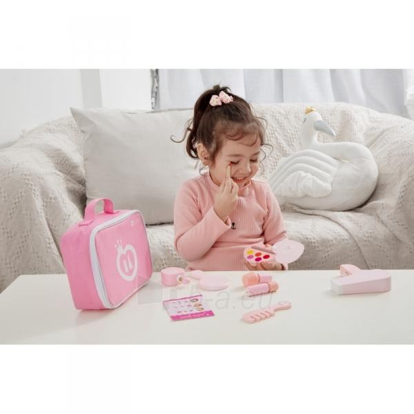 Vaikiškas medinis kosmetikos rinkinys krepšyje   Classic World 54402 Paveikslėlis 2 iš 2 310820186341