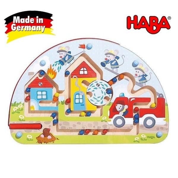 Vaikiškas medinis magnetinis stalo žaidimas Pelės ugniagesiai | Haba Paveikslėlis 1 iš 4 310820095371