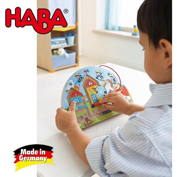 Vaikiškas medinis magnetinis stalo žaidimas Pelės ugniagesiai | Haba Paveikslėlis 3 iš 4 310820095371