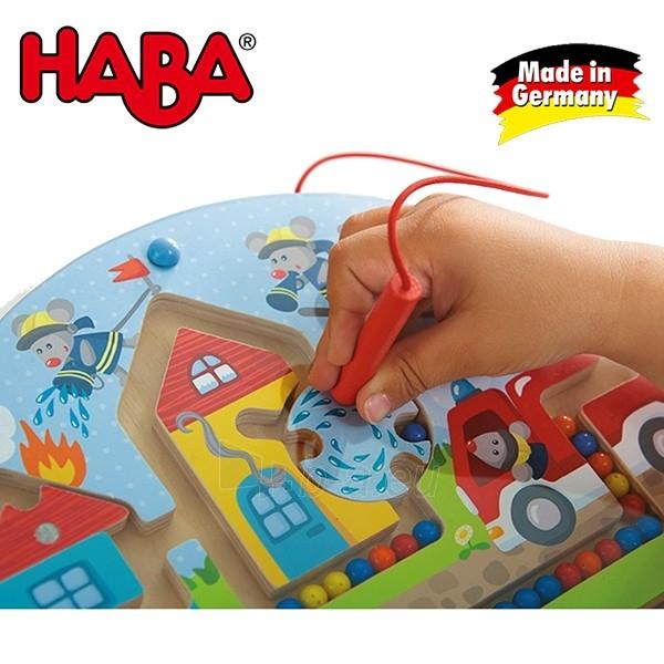 Vaikiškas medinis magnetinis stalo žaidimas Pelės ugniagesiai | Haba Paveikslėlis 4 iš 4 310820095371