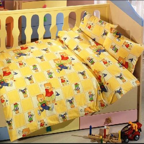 Vaikiškas patalynės komplektas ''Teddy Bears'', 4 dalių, 100x150 cm Paveikslėlis 1 iš 1 30115700381