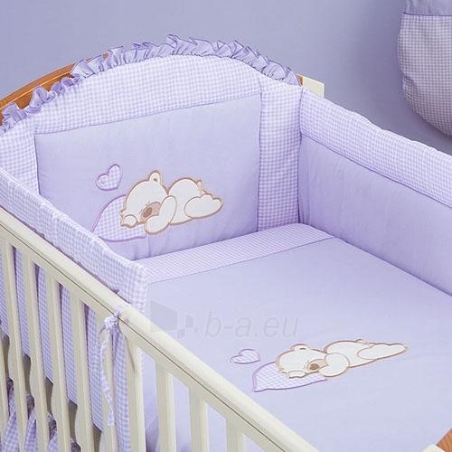 Vaikiškas patalynės komplektas ''Violetinis Sapnas'', 6 dalių, 90x120 cm Paveikslėlis 1 iš 1 30115700387