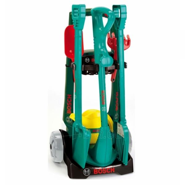Vaikiškas sodo įrankių rinkinys vežimėlyje | Bosch | Klein Paveikslėlis 1 iš 5 310820157459