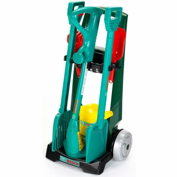 Vaikiškas sodo įrankių rinkinys vežimėlyje | Bosch | Klein Paveikslėlis 2 iš 5 310820157459
