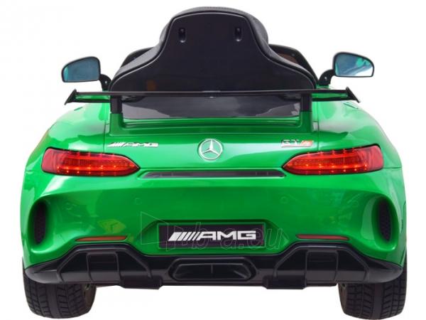 Vaikiškas vienvietis elektromobilis Mercedes AMG GT R, žalias Paveikslėlis 12 iš 14 310820193298
