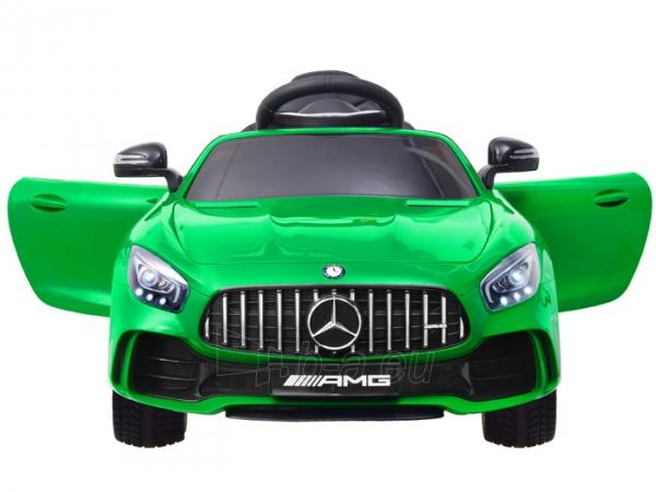 Vaikiškas vienvietis elektromobilis Mercedes AMG GT R, žalias Paveikslėlis 11 iš 14 310820193298