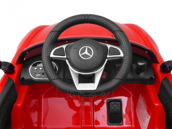 Vaikiškas vienvietis elektromobilis Mercedes AMG GT R, žalias Paveikslėlis 8 iš 14 310820193298