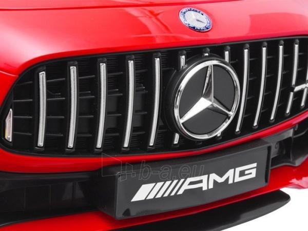 Vaikiškas vienvietis elektromobilis Mercedes AMG GT R, žalias Paveikslėlis 14 iš 14 310820193298