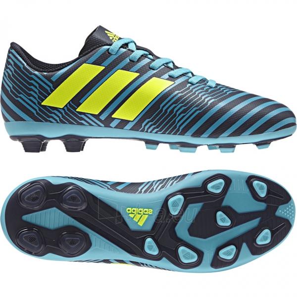 Vaikiški futbolo bateliai adidas Nemeziz 17.4 FxG S82458 Paveikslėlis 1 iš 4 310820141433