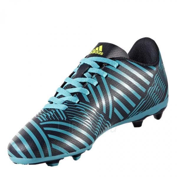 Vaikiški futbolo bateliai adidas Nemeziz 17.4 FxG S82458 Paveikslėlis 3 iš 4 310820141433