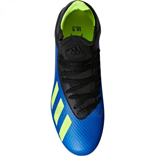 Vaikiški futbolo bateliai adidas X 18.3 FG DB2416 Paveikslėlis 3 iš 6 310820141571