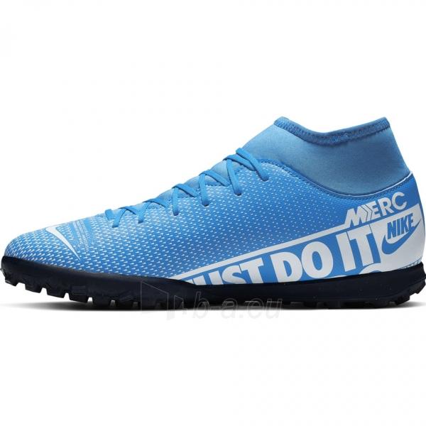 Vaikiški futbolo bateliai Nike Mercurial Superfly 7 Club TF AT8156 414 Paveikslėlis 3 iš 6 310820218550