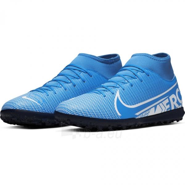 Vaikiški futbolo bateliai Nike Mercurial Superfly 7 Club TF AT8156 414 Paveikslėlis 4 iš 6 310820218550