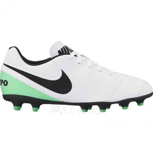 Vaikiški futbolo bateliai NIKE Tiempo Rio III FG 819195 103 Paveikslėlis 2 iš 4 310820141403