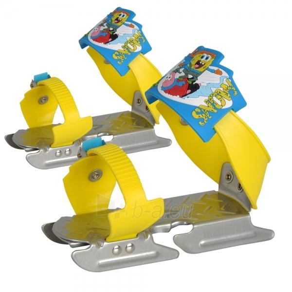 Vaikiškos slidės ant batų SpongeBog Paveikslėlis 1 iš 1 30085500243