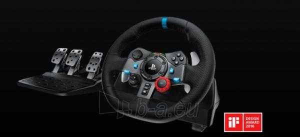 Vairalazdė LOGI G29 Driving Force Racing Wheel Paveikslėlis 1 iš 1 310820215279
