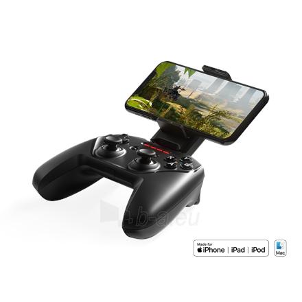 Vairalazdė SteelSeries Apple Gaming Controller, Nimbus+, Black Paveikslėlis 1 iš 6 310820220561