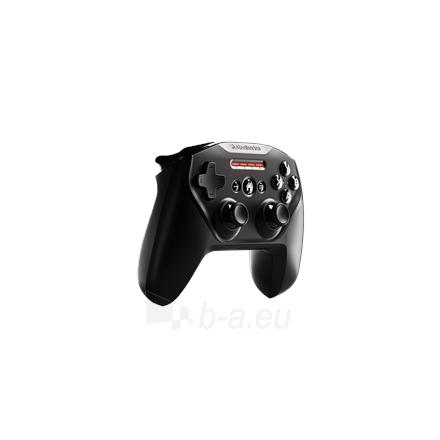 Vairalazdė SteelSeries Apple Gaming Controller, Nimbus+, Black Paveikslėlis 2 iš 6 310820220561