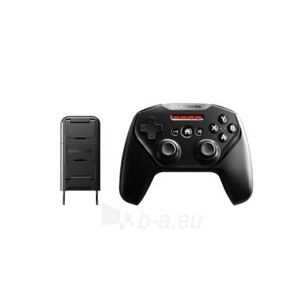 Vairalazdė SteelSeries Apple Gaming Controller, Nimbus+, Black Paveikslėlis 4 iš 6 310820220561