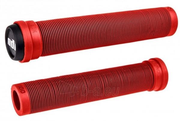 Vairo rankenėlės ODI Longneck SLX 160mm Single Ply Bright Red Paveikslėlis 1 iš 1 310820247587