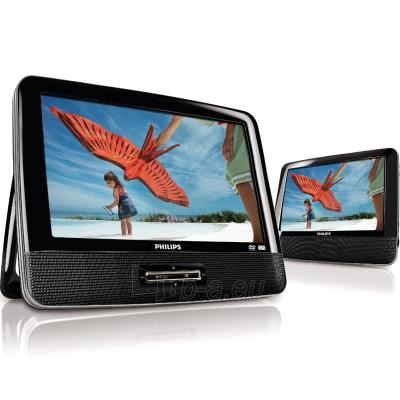 Philips Portable DVD Player PD9122 23 cm/9'' LCD Dual screens Paveikslėlis 1 iš 4 250221000180