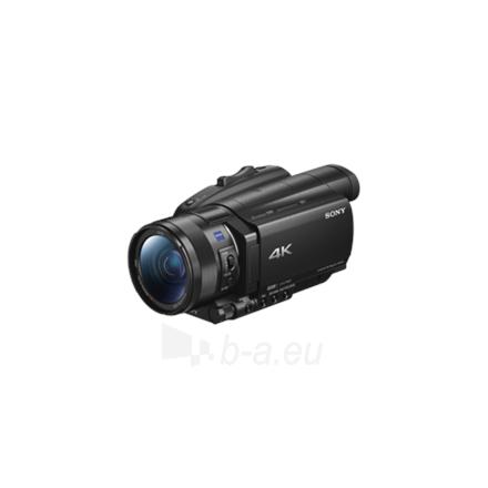 """Vaizdo kamera Sony FDRAX700B Digital zoom 192 x, Black, Wi-Fi, Xtra Fine LCD touch, Image stabilizer, 3840 x 2160 pixels, BIONZ X, Optical zoom 12 x, 3.5 """" Paveikslėlis 1 iš 8 310820162278"""