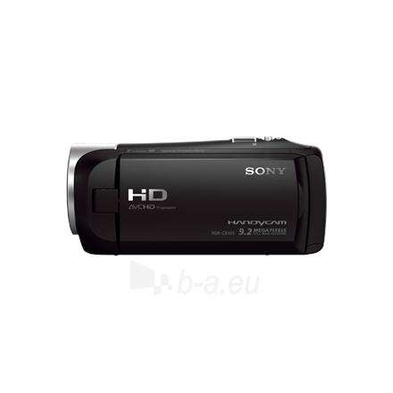 Vaizdo kamera Sony HDR-CX405B Black Paveikslėlis 2 iš 4 250226000504