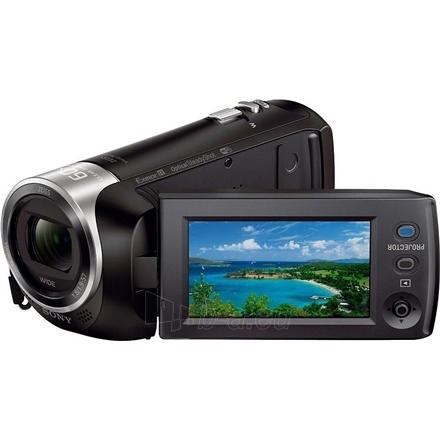Vaizdo kamera Sony HDR-PJ410EB Black Paveikslėlis 3 iš 4 250226000505