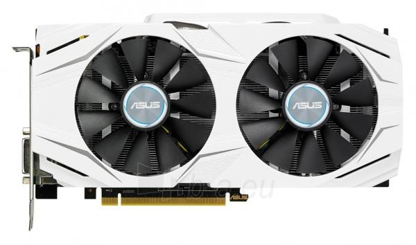 Vaizdo plokštė ASUS GeForce GTX 1060, 6GB GDDR5 (192 Bit), 2xHDMI, DVI, 2xDP Paveikslėlis 1 iš 7 310820045939