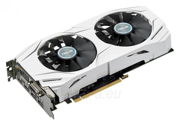 Vaizdo plokštė ASUS GeForce GTX 1060, 6GB GDDR5 (192 Bit), 2xHDMI, DVI, 2xDP Paveikslėlis 2 iš 7 310820045939