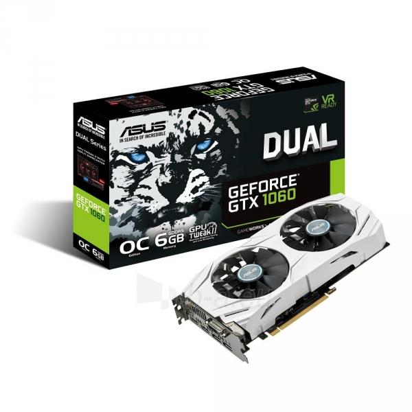 Vaizdo plokštė ASUS GeForce GTX 1060, 6GB GDDR5 (192 Bit), 2xHDMI, DVI, 2xDP Paveikslėlis 7 iš 7 310820045939