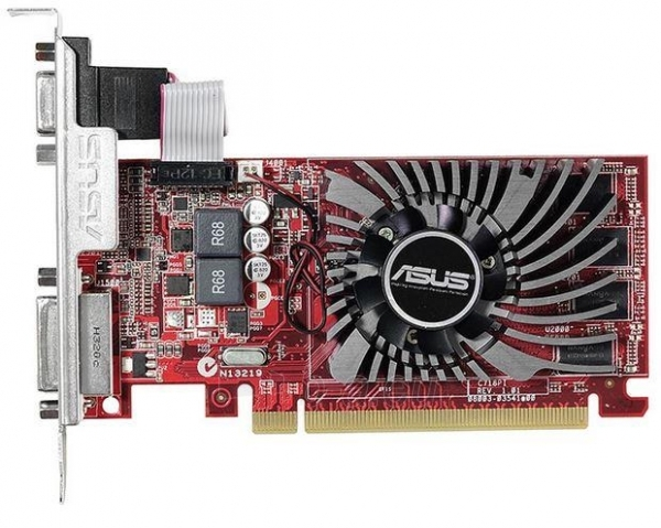 ASUS Radeon R7 240, 2GB DDR3 (128Bit), HDMI, DVI Paveikslėlis 2 iš 3 250255061193